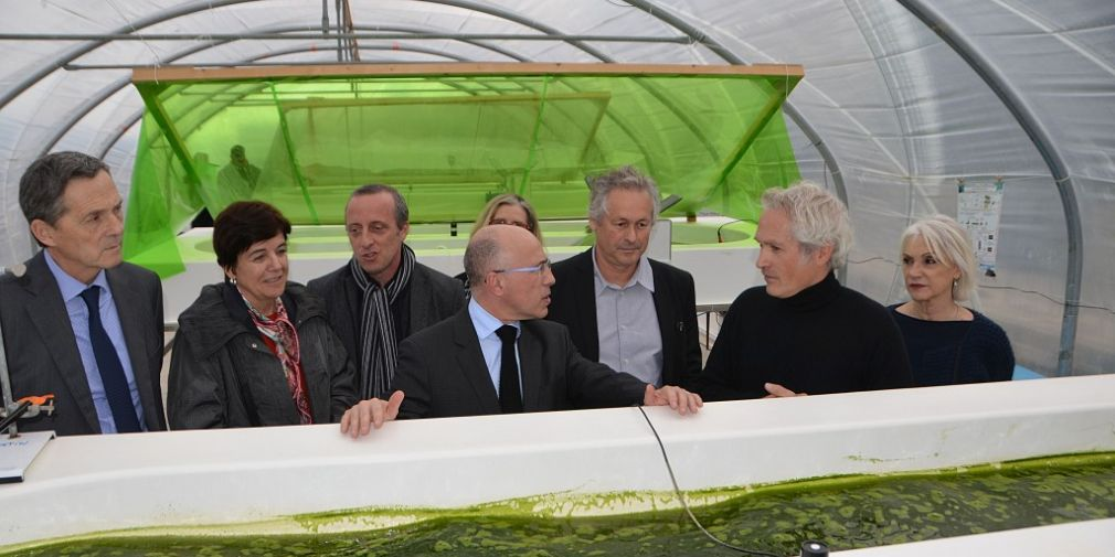Inauguration des serres photovoltaïques à l'OOV (Projet Full Spectrum)