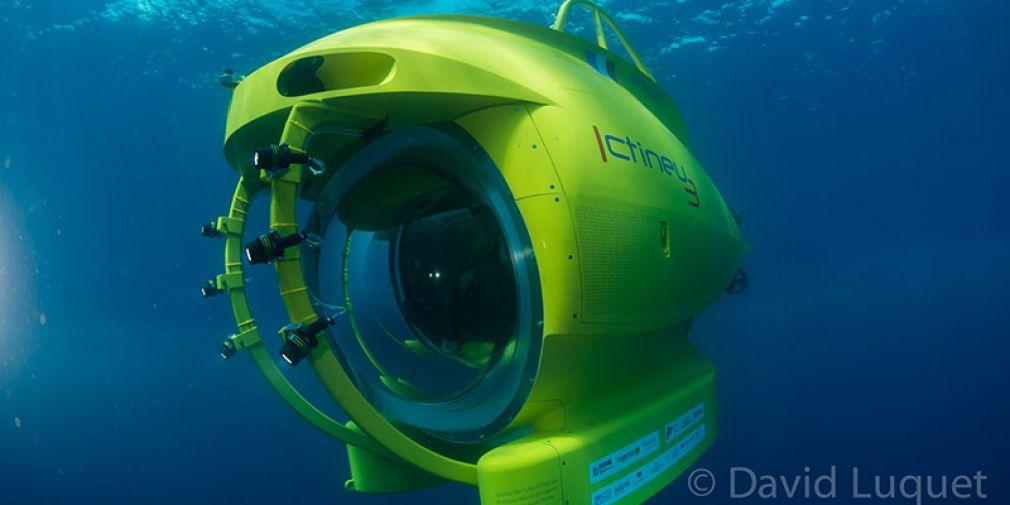 Ictineu 3 : un sous-marin à la technologie de pointe dans la rade de Villefranche-sur-Mer