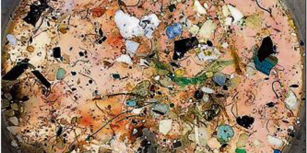 """Une """"soupe"""" de plastiques dans le Pacifique"""