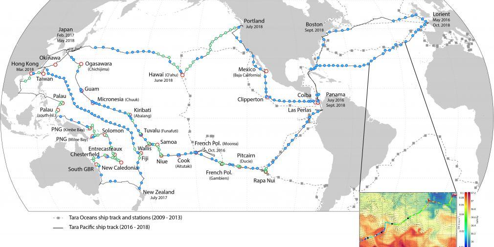 Une nouvelle méthodologie d'échantillonnages de l'interface air-mer appliquée à l'océan Pacifique et l'Atlantique Nord