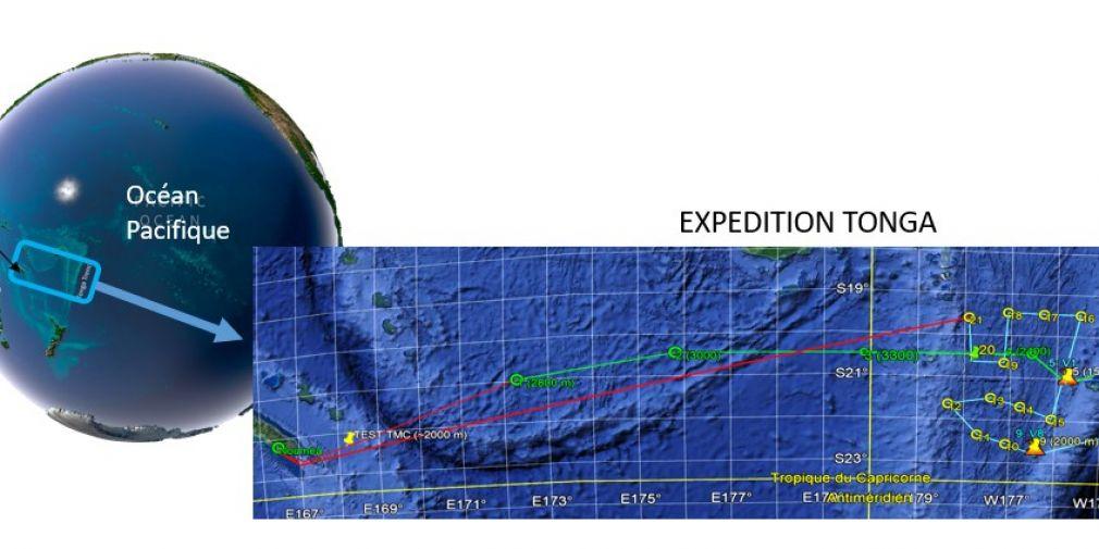 Au contact des volcans sous-marins : Campagne Tonga, on largue les amarres !