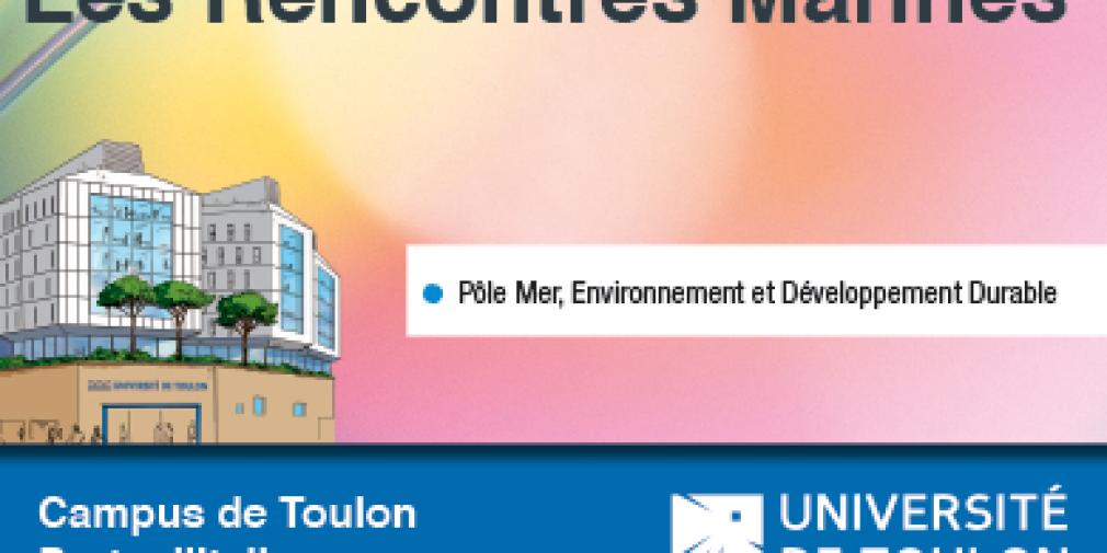 Les Rencontres Marines à l'université de Toulon