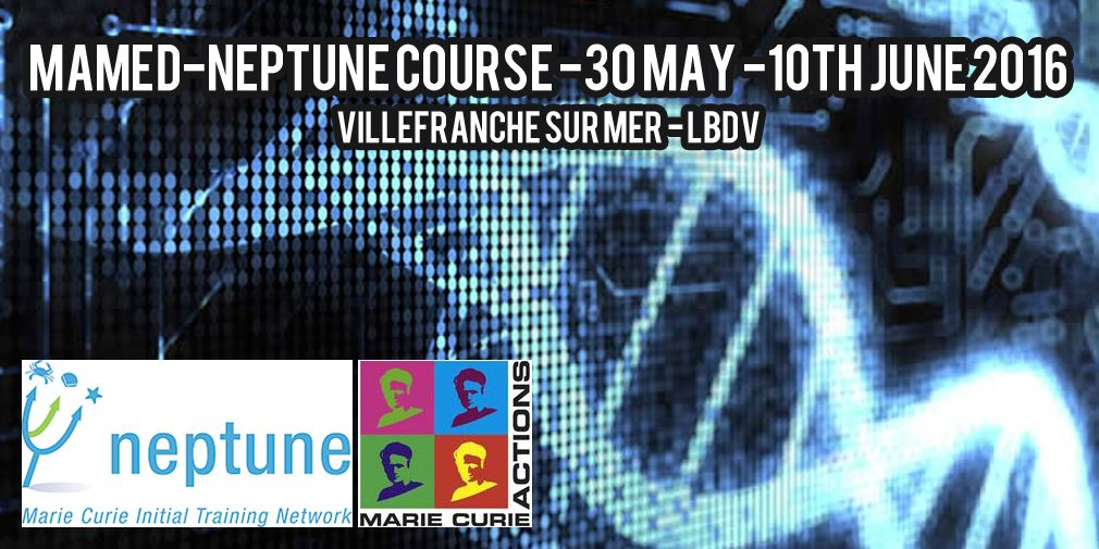 MAMED-NEPTUNE course -30 May -10th June 2016