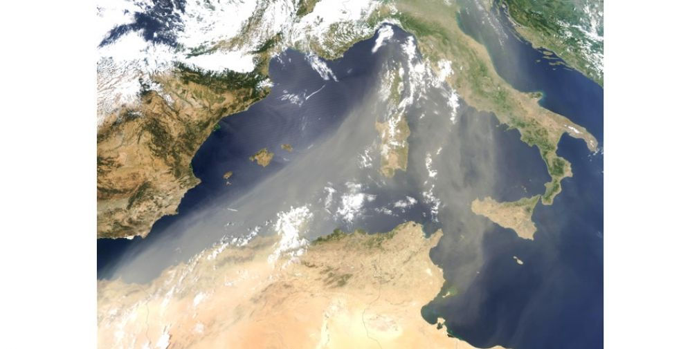 DEPARTURE OF THE FRENCH PEACETIME CRUISE IN THE MEDITERRANEAN SEA