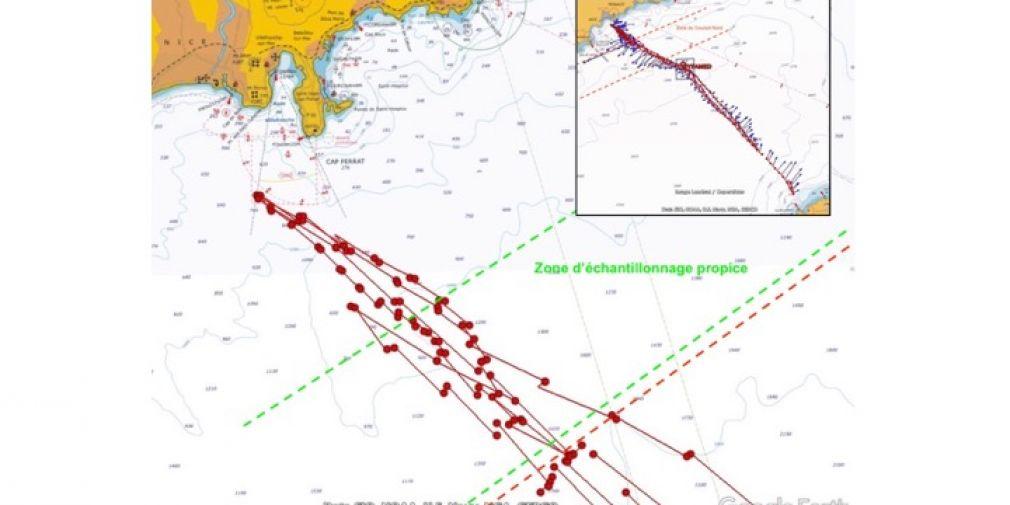 Campagne WINKLEX, mesures d'oxygène en Mer Méditerranée