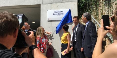 L'Institut de la Mer de Villefranche (IMEV) a inauguré son nouveau bâtiment