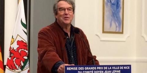 """""""Grand Prix de la Ville de Nice"""" pour Christian Sardet"""
