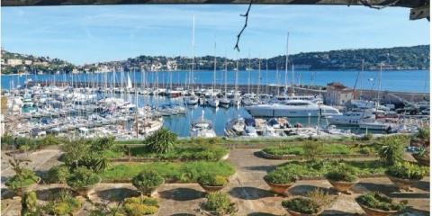 """Une """"pépite de la Darse"""" : Jean Mascle """"raconte"""" le jardin Beaudouin de Villefranche-sur-Mer."""