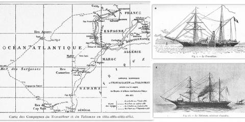 Aux origines de l'océanographie en France : les expéditions du Travailleur et du Talisman