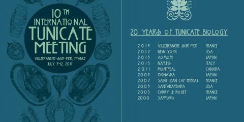 10è Conférence Internationale des Tuniciers à Villefranche-sur-Mer (10th International Tunicate Meeting-ITM)